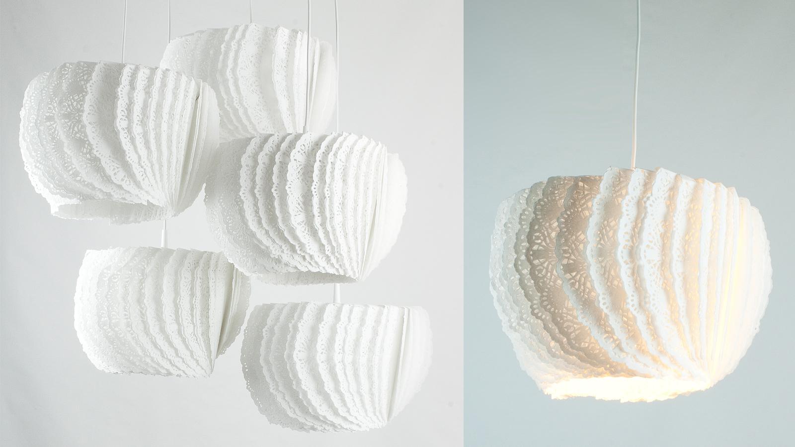Zaprojektowane z pozornie kruchego materiału, lampy BON APPETIT! są niebywale twałe