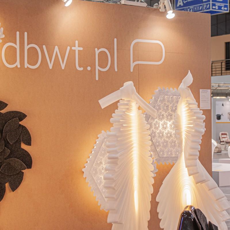 Stoisko DBWT.PL podczas targów Arena Design 2012, Poznań