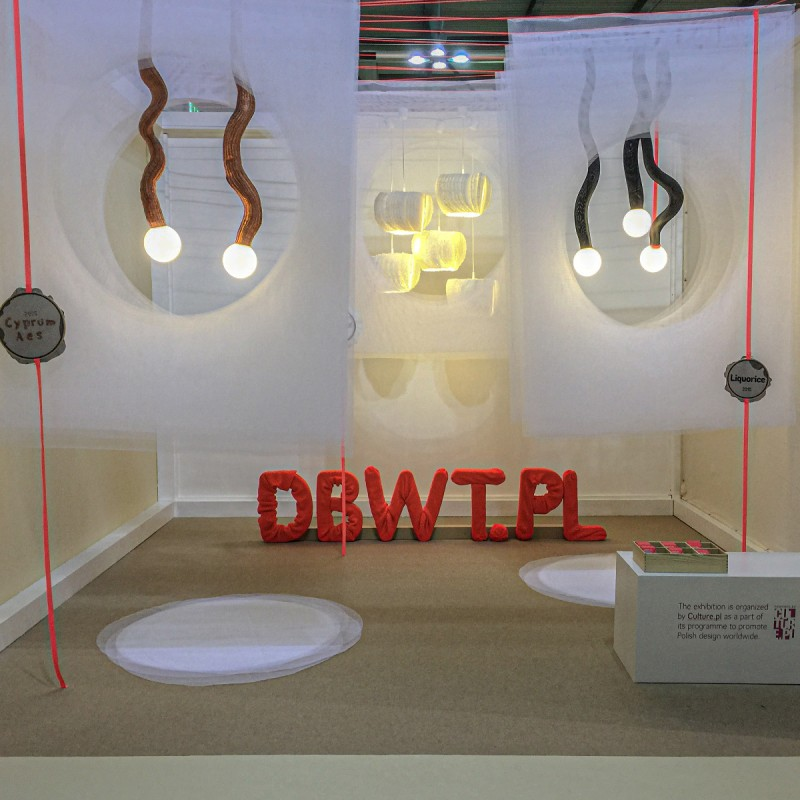 DBWT.PL booth at iSaloni, Milan 2015