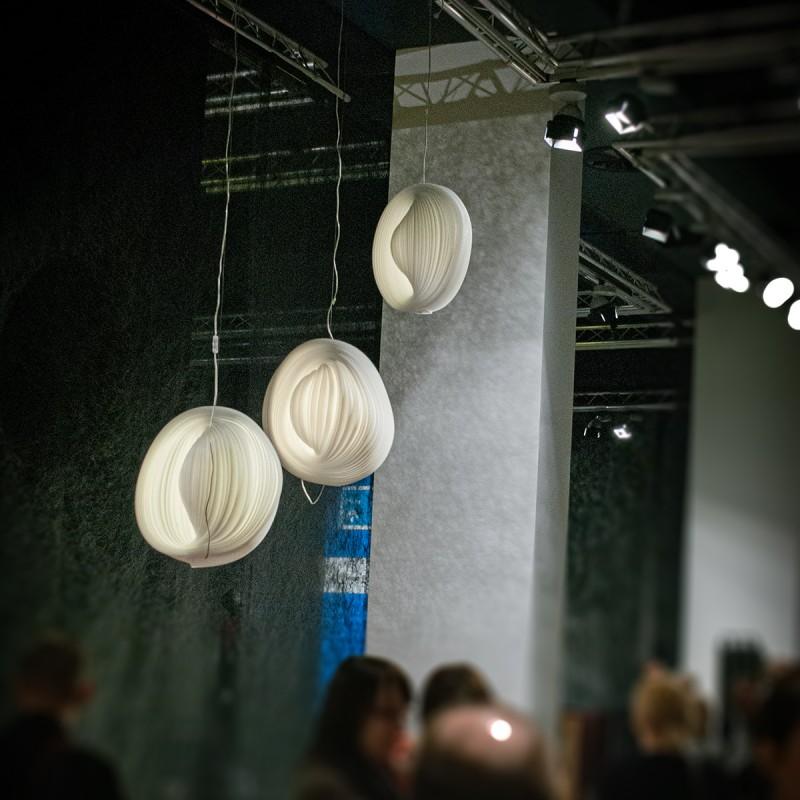 2009 – lampy «Cebula» Darii Burlińskiej na wystawie laureatów konkursu «Dobry Wzór», Instytut Wzornictwa Przemysłowego, Warszawa